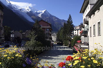 Le pittoresque Chamonix