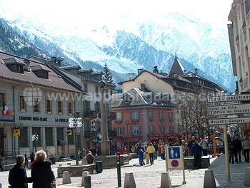 Centre-ville de Chamonix