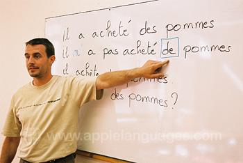 Des sympathiques professeurs de français