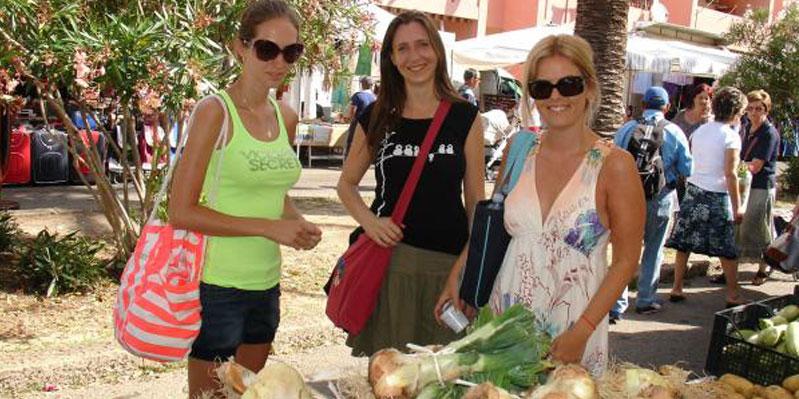 Excursion au marché