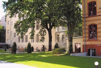 Le campus de l'école