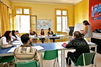 Salles de classe aérées et lumineuses