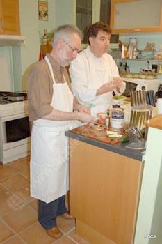 Français et cours de cuisine