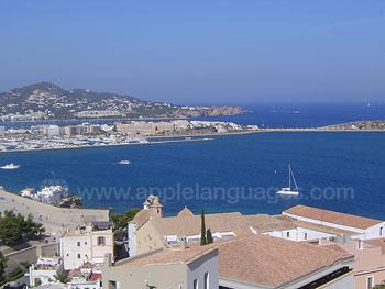 Vue sur Ibiza