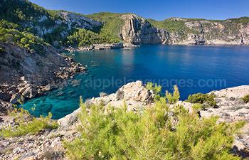 Ibiza a d'éblouissantes vues