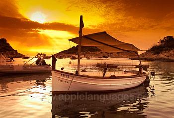 Coucher de soleil sur Ibiza