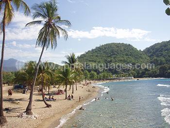 Une plage près de Santiago