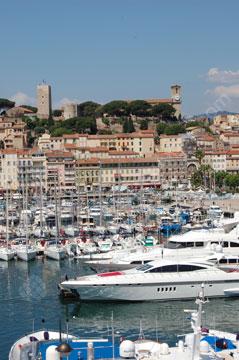 La marina à Cannes