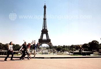 Des étudiants à Paris