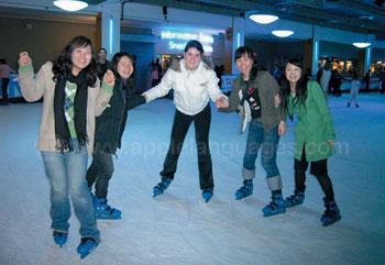 Sortie patins à glace