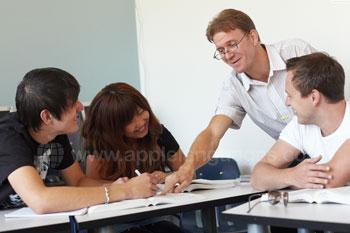 Cours d'anglais dans notre école