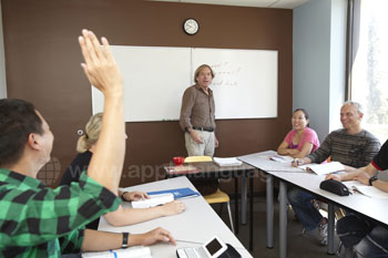 Apprendre l'anglais en groupe