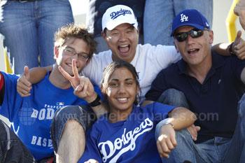 Sortie à un match des Dodgers