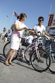 À la découverte de Venice à vélo