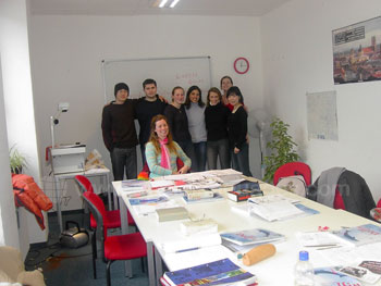 Cours d'allemand dans notre école de Munich