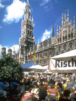 Un café à Munich