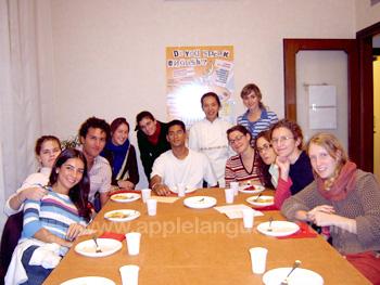 Des étudiants du programme cuisine italienne