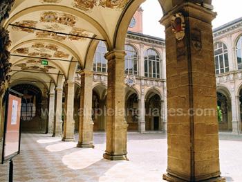 Chiostro Archiginnasio à Bologne