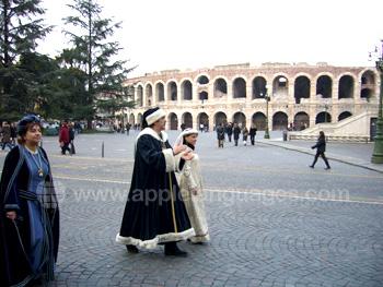 Retour au Moyen-âge à Vérone