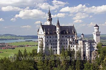 Le château de conte de fées de Neuschwanstein