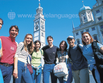Nos étudiants à Augsbourg