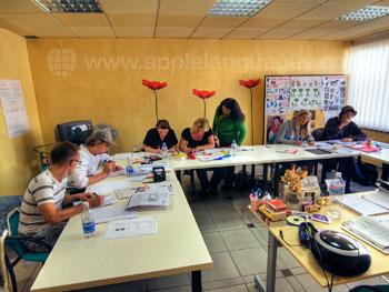 Cours d'espagnol dans notre école de Puerto de la Cruz