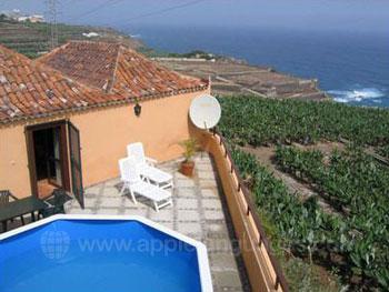 Cottage (finca) avec une belle vue