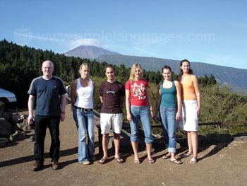 Des étudiants de notre école en excursion
