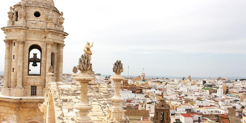 Vue sur Cadiz