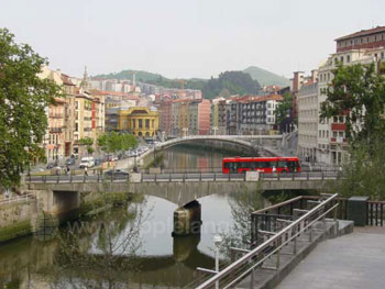 Le fleuve à Bilbao
