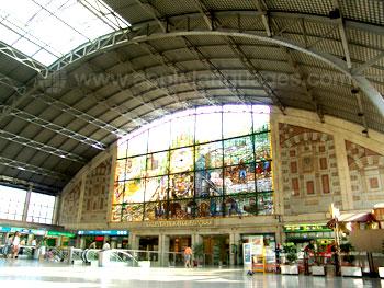 La magnifique gare de Bilbao