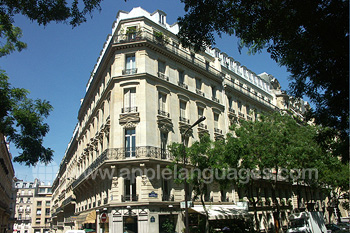 Notre école de Paris (Arc de Triomphe)