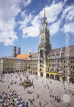 Le centre historique, Munich