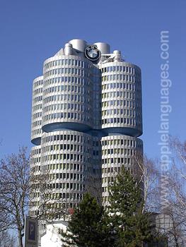 Le bâtiment de BMW