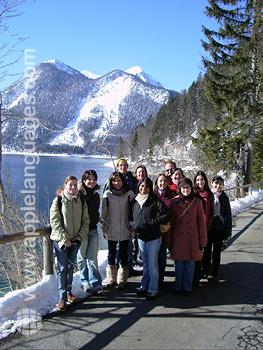 Excursion dans les montagnes