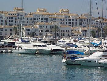La marina de Marbella