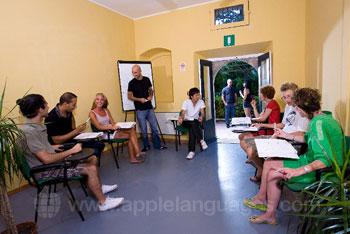 Cours d'italien dans notre école