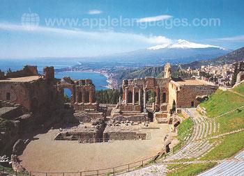 Excursion dans un amphithéâtre romain