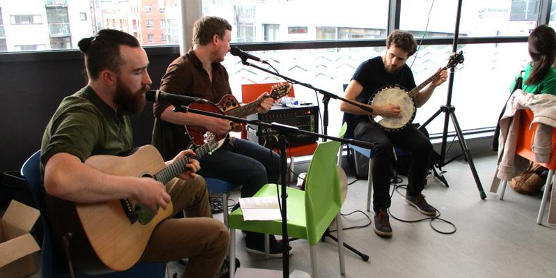 Groupe de musique local