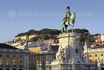 Un monument de Lisbonne