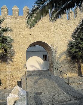 Les murs de la ville de Vejer