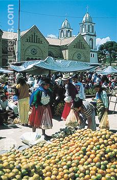 Marché indien - Cuenca