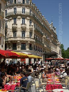 Un café, Montpellier