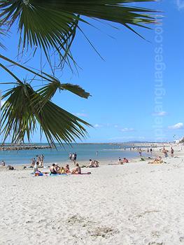 La plage voisine