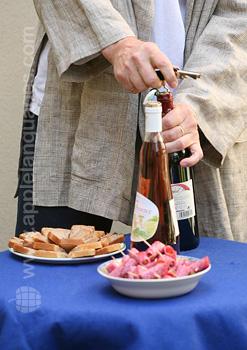 Ouverture du vin