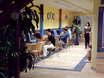 Cybercafé de l'école