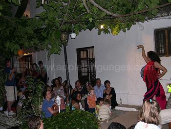 Soirée flamenco à l'école