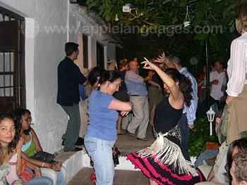 Fête flamenco à l'école