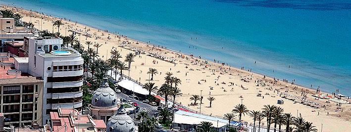 Plage d'Alicante