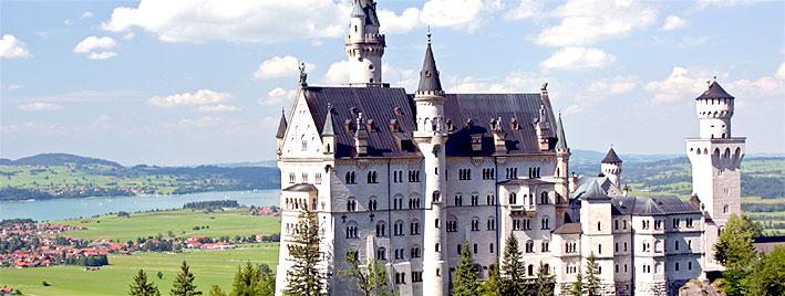 Château de Neuschwanstein dans les environs d'Augsbourg